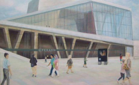 Opera w Oslo-tryptyk
